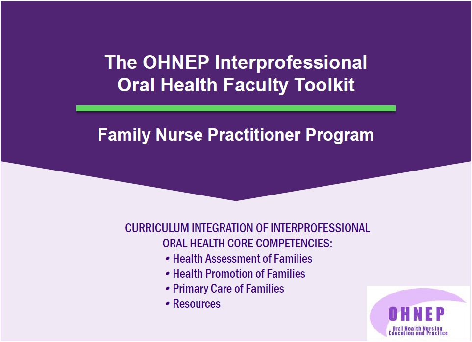 Family Nurse Practitioner Faculty Tool Kit