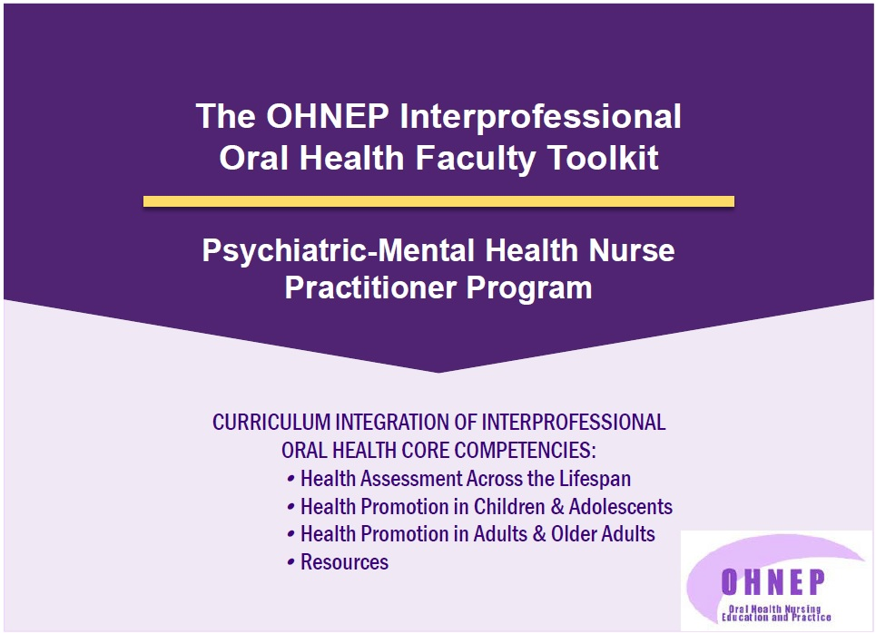 Psychiatric-Mental Health Nurse Practitioner Faculty Tool Kit