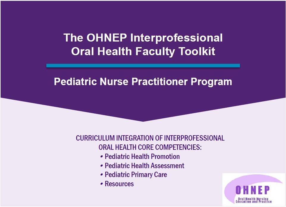 Pediatric Nurse Practitioner Faculty Tool Kit